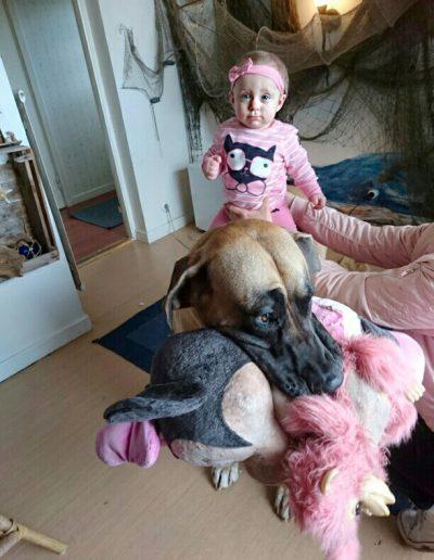 Saga behöver ingen ponny när Daddy finns